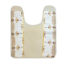 "Contour Rug 21""x22"" Gold/Ivory Popular Bath Savoy Collection - $29.69"