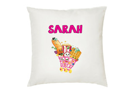 Personalised Shopkins Cushion Cover  Your Name Great  Gift - $10.21