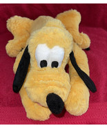 "Disney Parks Plush Pluto 13"" Stuffed Animal Mickey Mouse Yellow Puppy Pa... - $15.83"