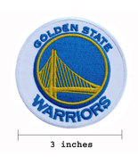 Golden State Warriors Style-1 Embroidered Iron Patch. - $1.20