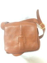 Vintage Gucci genuine brown leather shoulder bag with horsebit embossed ... - $218.00