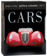 2017 Cars Page-A-Day Gallery Calendar  NEW - $8.55
