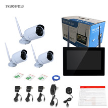 ENNIO SY1003FD13 10 inch TFT 4CH 960P Wireless DVR Video Security Three ... - $357.75