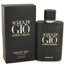 Acqua Di Gio Profumo by Giorgio Armani Eau De Parfum  4.2 oz, Men - $97.02