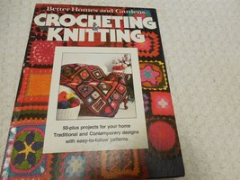 Crocheting & Knitting Better Homes and Gardens 50 plus projects for Home Easy - $11.68