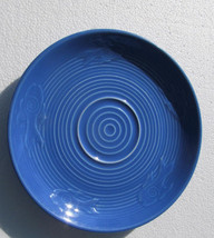 Fiesta Lapis Blue Color Fish Saucer by Homer Laughlin- Lead Free - $15.99
