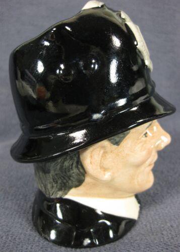 """The London Bobby D6762 Royal Doulton Character Toby Jug Small 4"""" 10cm Big Ben image 2"""