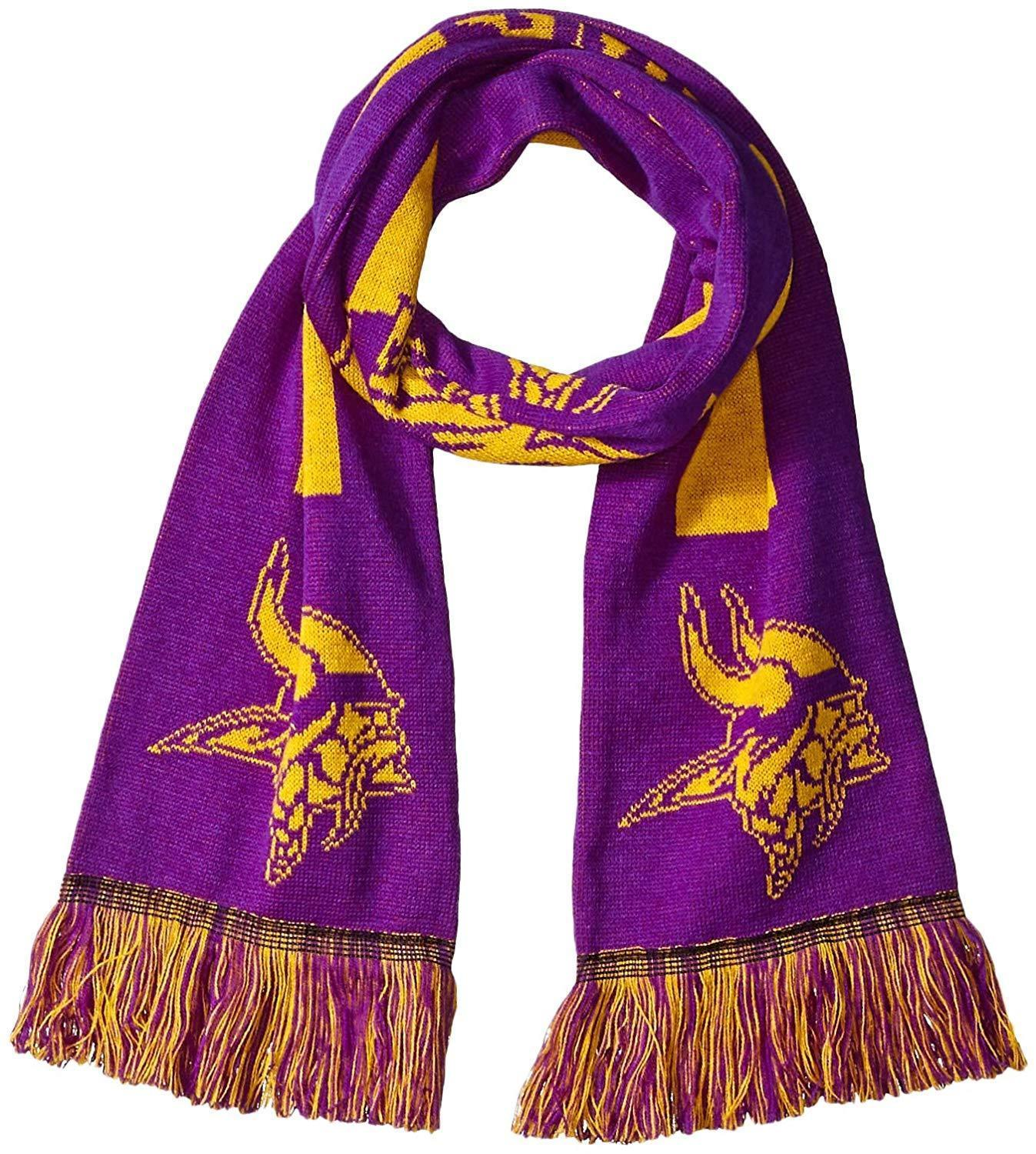 """NFL Minnesota Vikings 2016 Big Logo Scarf 64"""" x 7"""" by Forever Collectibles - $27.95"""