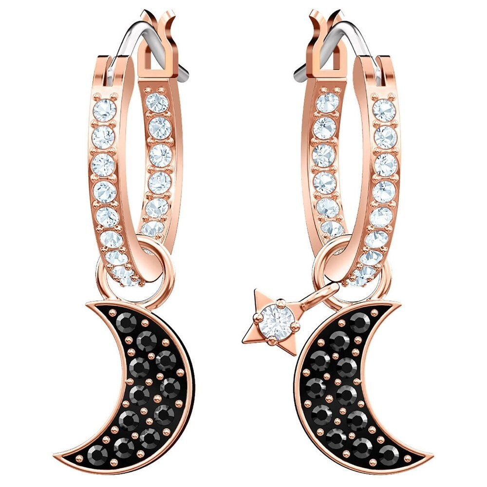 Primary image for 2020 New Moon Stars Element Lips Pearl Rainbow Butterfly Blue Zircon Fashion Ele