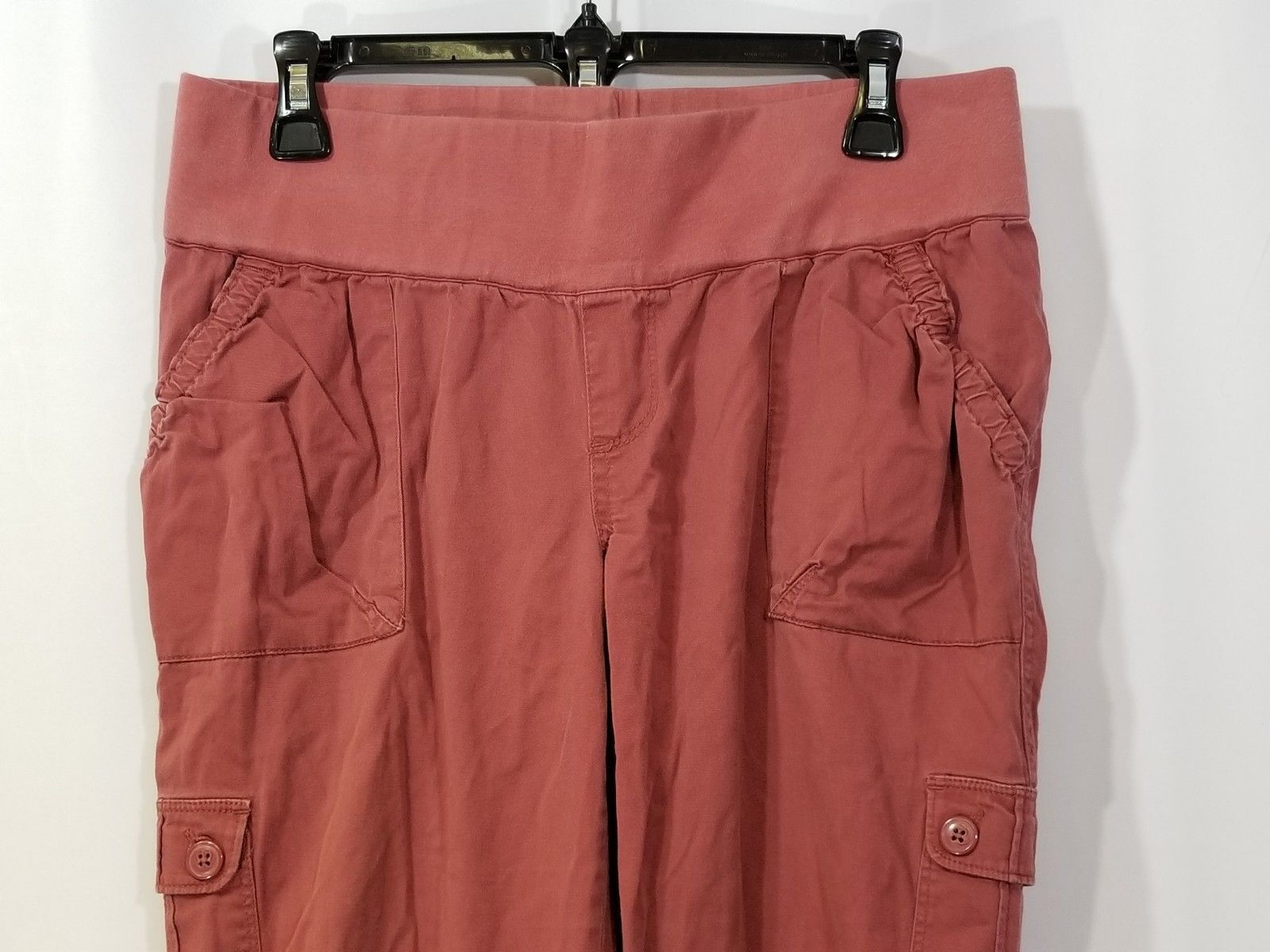 fa762610a1e32 Liz Lange Maternity For Target Brown/Red Pants Size 4 Cotton Stretch
