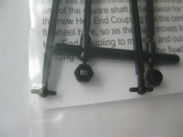 A-Line #12032 Hex Drive Couplings Universal Dogbone Fits Athearn Cut to length image 2