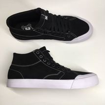 DC Shoes Men's Size 12 Evan Smith Hi Zero Black with White Sole - $46.56