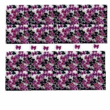 100 Rhinestones ROSE Tiny new lots Arts Crafts BOWS - $3.20