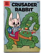 Crusader Rabbit 805 VG 4.0 Dell Four Color 1957  - $27.72