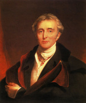 Portrait Of The Duke Of Wellington British Painting By Thomas Lawrence Repro - $10.96+