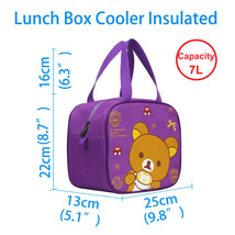 Lunch Bags for Women Insulated Fashionable,Lunch Box Cooler Bag for Boys... - $17.99