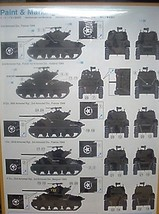 Cyber-Hobby 1/35 kit 9155 WW2 USA M4A1 [ 76] W VVSS Sherman Tank  w/bonus image 2