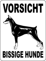 17 DOBERMAN PINSCHER ALUMINUM DOG SIGNS 9 X 12 - $14.49