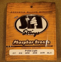 SIT P1254 Light Acoustic Guitar Strings - $5.69