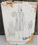Butterick 8496 Swagger Coat Jacket Vintage Pattern Size 14 - $20.00