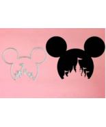 Mickey Mouse Head with Disney Castle Die - $12.55