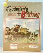 Guderian's Blitzkrieg The Panzer Leaders Last Drive The Gamers SHRINK 1992 - $58.41