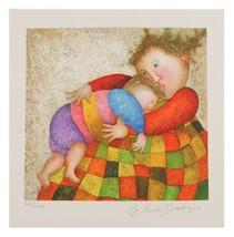 """"""" Amour,Tendresse """" von Graciela Rodo Boulanger Lithographie auf dem Papier Le image 1"""