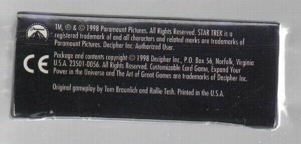 Star Trek Customizable Card Game - Premiere Starter Deck II - Decipher. image 6
