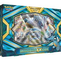 Kingdra EX Collection Box Pokemon TCG Cards 4 Booster Packs + Promo Sealed - $18.99