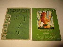 2003 Age of Mythology Board Game Piece: Greek Random Card - Attack - Aphrodite  - $1.00