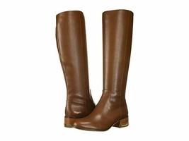 MICHAEL Michael Kors Walker Flat Boot Dark Caramel - £127.43 GBP
