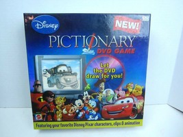 NEW Disney Pixar DVD Pictionary Mattel board game family interactive  never used - $14.03