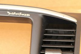 08-10 Mitsubishi Lancer Center Dash Navi Radio Screen Bezel Trim - ROCKFORD image 5