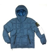 NEW STONE ISLAND GARMENT DYED CRINKLE REPS NY DOWN TEAL PULLOVER JACKET SIZE 2XL - $445.50