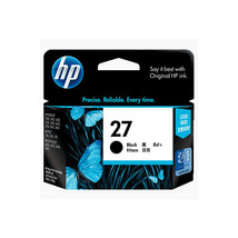 Black Ink - HP 27 Standard Ink Cartridge (for Officejet 6110) - $39.99