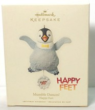 Hallmark Ornament 2008 Happy Feet Mumble Dances - $9.99
