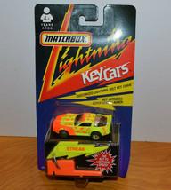 Vintage Matchbox Lightning Key Cars Streak Corvette Moc 1991 1990'S Toys - $12.01