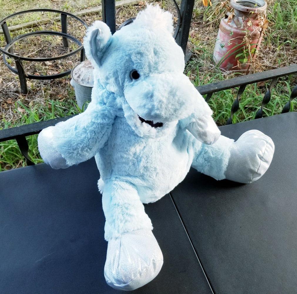"Converted 31"" Stuffed Animal ""Pegasus"" Ventriloquist Puppet *Custom * E16 - $15.00"