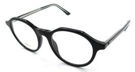 Christian Dior Rx Eyeglasses Frames Montaigne 38 VSW 47-19-145 Black Crystal - $215.60