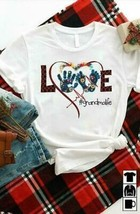 Love Grandmalife Ladies T-Shirt White Cotton S-3XL - £14.51 GBP+