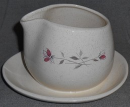 Franciscan DUET PATTERN Gravy Boat w/Attached Underplate CALIFORNIA - $11.87