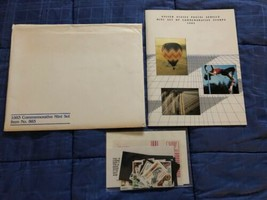 1983 USPS Mint Set of Commemorative Stamps Folder & Stamps & Mounts - $9.40