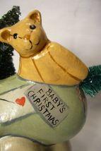 Vaillancourt Folk Art, Baby's First Christmas Signed by Judi Vaillancourt image 6