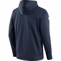 Mens Xxl 2XL Nfl Team Apparel Denver Broncos Pull Over Hoodie Sweatshirt Navy - $39.99