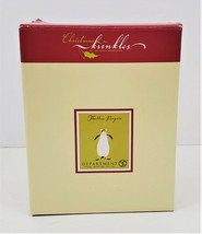 Dept 56 Christmas Krinkles Thaddeus Penguin Ornament by Patience Brewster - $35.55