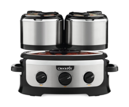Crock-pot SCCPTOWER-S  Swing and Serve Slow Cooker, Stainless Steel - $3.555,51 MXN
