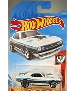 2019 Hot Wheels  #181 Muscle Mania 6/10 68 COPO CAMARO White w/Black Mc5... - $6.30