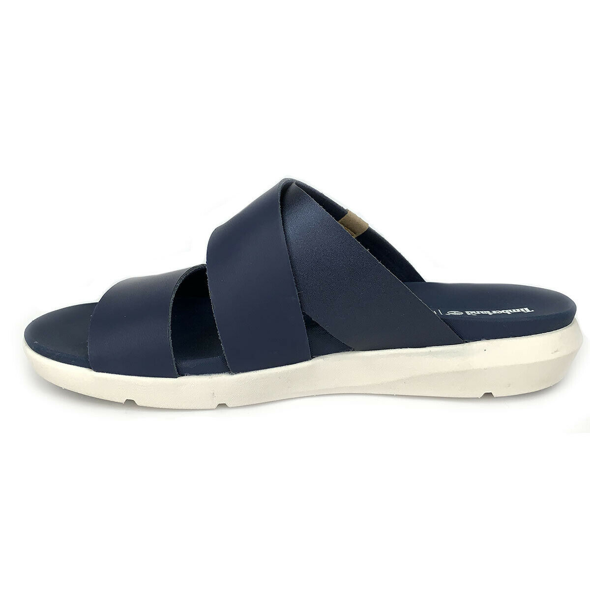 Timberland Women's Wilesport Navy Slip On Sandals A1XPH image 4