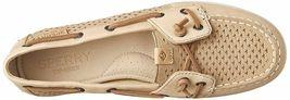 Sperry Top-Sider Mujer Bobina Hiedra Lino Escala Realzado Barco Zapatos STS80256 image 5