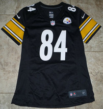 Pittsburgh Steelers Antonio Brown #84 NFL Nike Brand Jersey Women's Size S - $19.79